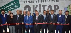 Osmaniye'de 3. Kitap Fuarı açıldı Fuar boyunca 150 yazar okuyuculara kitaplarını imzalayacak