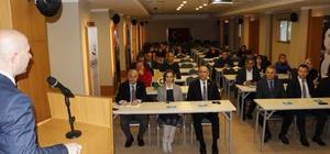 Süs Bitkileri Yetiştiriciliği ön fizibilite raporu tanıtım toplantısı gerçekleştirildi