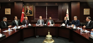 Vali Davut Gül'den Gaziantep Ticaret Odası'na İade- Ziyaret