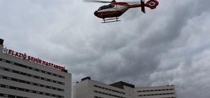 """Başhekim Öztürk;""""Helikopterle gelen hastamızın durumu iyi"""""""