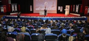 Öğrencilere 'Başarıda Moral ve Motivasyon' konferansı