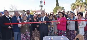 Emirhacılı süt toplama merkezi dualarla açıldı