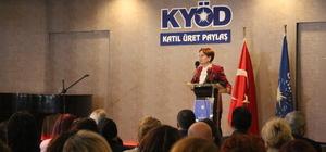 İYİ Parti Genel Başkanı Meral Akşener, Kocaeli'de