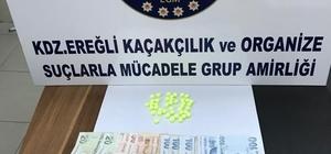Kdz Ereğli'de 3 kişi uyuşturucu ticareti yapmaktan tutuklandı
