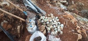 Terör örgütü PKK'nın kış üslenmesine yönelik operasyon