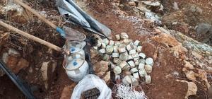 Çatak'ta teröristlerin kullanmış olduğu 2 sığınak kullanılamaz hale getirildi