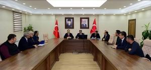 Vali Mehmet Emin Bilmez, Turizm İşletmecileriyle toplantı yaptı