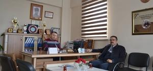 Müdür Kızılkaya'dan Başkan Keskin'e ziyaret