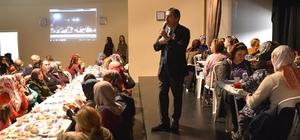 Başkan Ataç'ın kadınlarla bilgilendirme toplantısı