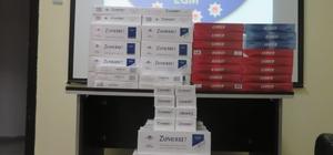 Ardahan'da 5 bin paket kaçak sigara ele geçirildi