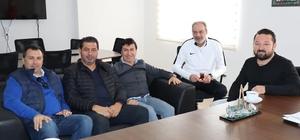 Ahmet Aras, Bodrumspor'a destek sözü verdi.