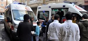 Diyarbakır'da karbonmonoksit zehirlenmesi: 4 kişi hastaneye kaldırıldı