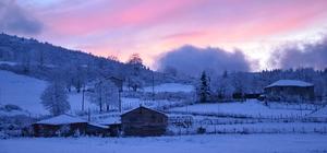 Ordu'nun yükseklerinde kartpostallık kar manzaraları Kar yağışı sonrası Çambaşı Yaylası hayran bıraktı