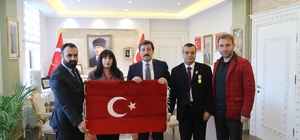 Türkiye Gaziler ve Şehit Aileleri Vakfı Genel Başkanı  Aylar Çanakkale'de