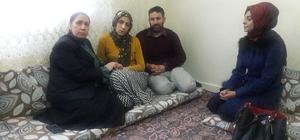 Oğlu dağa kaçırılan aileye, AK Parti'den ziyaret