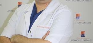 Uzman Dr. Örnek, Özel Anadolu Hastanesinde hasta kabulüne başladı