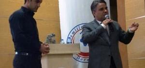 Bismil'de aday öğretmenler bilgilendirildi