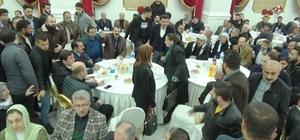 Barış töreninde HDP'li vekilin propagandasına AK Partili vekillerden tepki