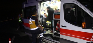 Elazığ'da trafik kazası: 6 yaralı