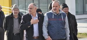 Başkan Esat Öztürk takımı yalnız bırakmadı