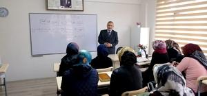 Erzincan'da Bayanlara Yönelik Kur'an Kursu Devam Ediyor