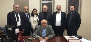 """Emirdağ Ticaret ve Sanayi Odası'ndan İstanbul'daki Emirdağlı iş adamlarına """"Teşekkür ziyareti''"""