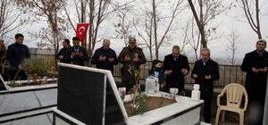Beşiktaş Şehit Yılmaz, kabri başında anıldı