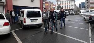 İnşaattan çaldıkları malzemeleri satarken yakalandılar Olayla ilgili 3 kişi gözaltına alındı