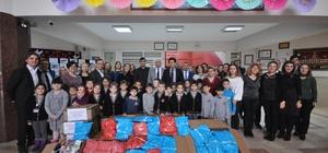 Tekirdağ'dan Vanlı öğrencilere hediye paketi