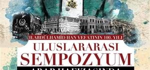 Kütahya'da Sultan II. Abdülhamid ve Türk-Arap ilişkileri konuşulacak