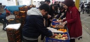 Yerli Malı Haftasında 6 ton meyve öğrencilere dağıtılacak