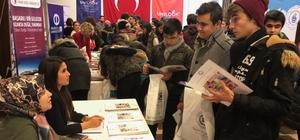Kütahya'da Üniversite Tanıtım ve Tercih Günleri etkinliği