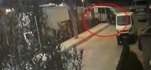 Şantiyeye dadanan hırsızlar, kendilerini fark eden inşaat sahibini ezerek kaçtılar İnşaat sahibinin ölümden döndüğü anlar güvenlik kamerasına yansıdı