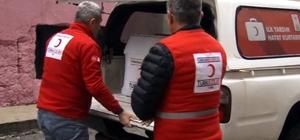 Siirt'te yardıma muhtaç olan aileye yardım yapıldı