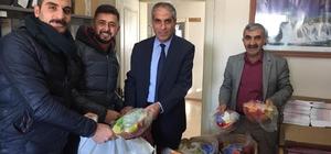 Saray'daki 44 okulla spor malzemesi desteği