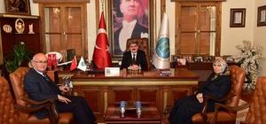 Nevşehir'den Başkan Can'a ziyaret