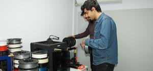 Yalovalı mühendisler dünyaya kafa tutuyor Ülkenin dışa bağımlılığını ortadan kaldıracaklar 3D yazıcı flagmentleri Türkiye'de üretiliyor