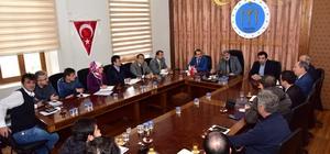 Başkan Can, birim müdürleriyle bir araya geldi