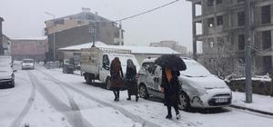 Bingöl ve Tunceli'nin ilçelerinde kar yağışı etkili oldu
