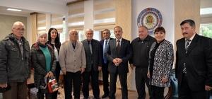 İnsan Hakları Kurulu üyelerinden Vali Vekili Taşdöğen'e ziyaret