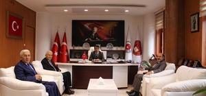 ESOB Başkanı Konak'tan Cumhuriyet Başsavcısı Çelenk'e ziyaret
