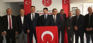 MHP Giresun'da bazı belediye başkan adaylarını tanıttı