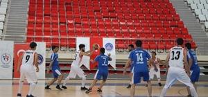 KYK'lı gençler basketbol turnuvasında mücadele etti