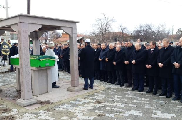 Ordu Valisi Seddar Yavuz'ın acı günü Anne Hafize Yavuz, Günyüzü'nde toprağa verildi