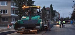 Bozüyük'te asfaltlama çalışmaları devam ediyor