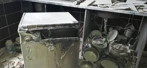 Tüpteki gaz kaçağını çakmakla kontrol eden kadın evi yaktı