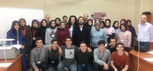 TÜBİTAK'tan imam hatip lisesi öğrencilerine dünyanın oluşumu ve jeolojik zamanlar konusunda eğitim