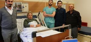 Varto'da ilk defa idrar kaçırma ameliyatı yapıldı