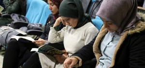 NEVÜ'de '1. Okuma Şenliği' ve Kitap bağışı kampanyası düzenlendi