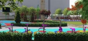 Midyat kent park çalışmaları başladı